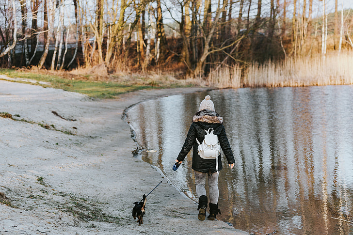 A walk by the lake