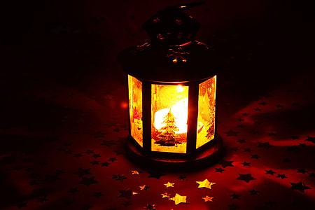 turn on orange lantern
