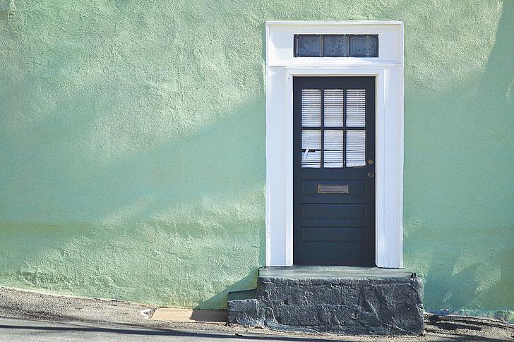 Antique Residence Door