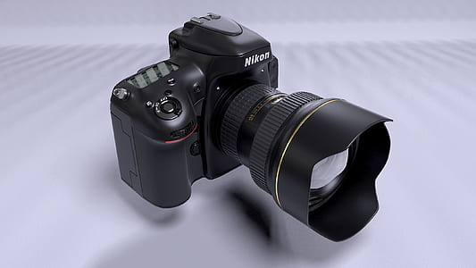 photo of black Nikon DSLR camera