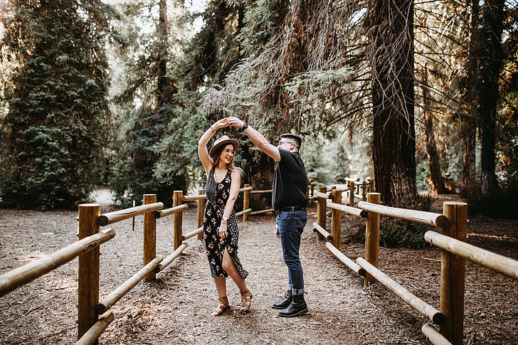 Surprise Proposal in the Redwoods!