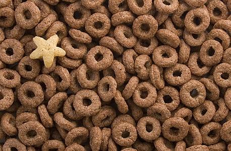 round chocolate cereals