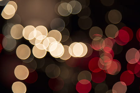 blur, focus, lights, night, bokeh, black