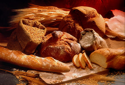 photo of baked breads