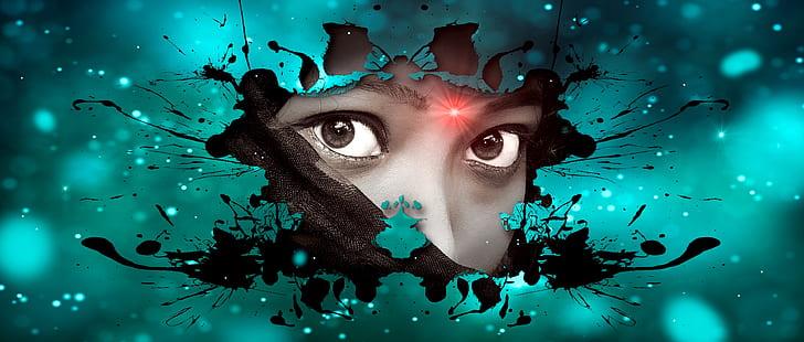woman face 3D illustration
