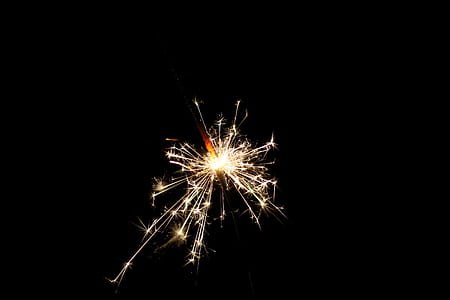 Photo of Illuminated Sparklers