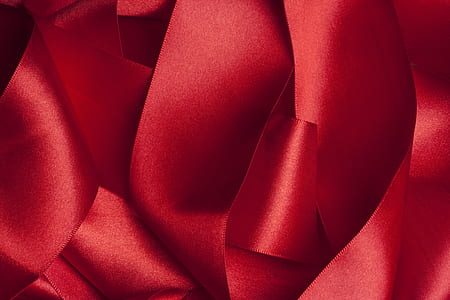 red, fabric, textile, macro, detail, color image