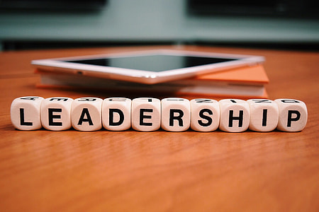 photo of Leadership text print on dice