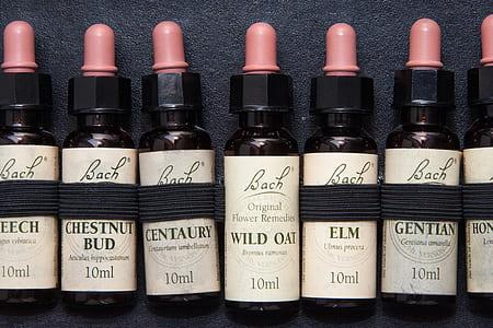 10 ML black Bach bottles