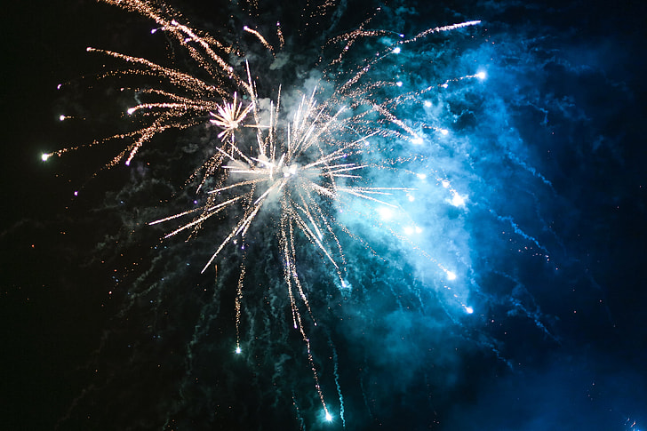 New Year's Eve/Silvester 2015 Fireworks