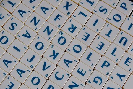 white letter blocks