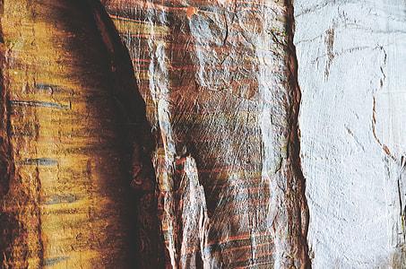 Closeup shot of abstract stone texture