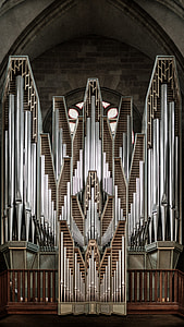pipe Organ, church, musical Instrument, indoors