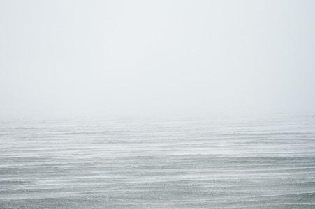 foggy horizon