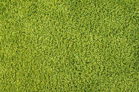Green High Pile Carpet Close Up Pattern Background
