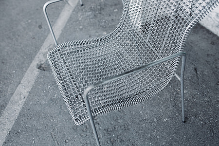 Retro Metal Dining Chair