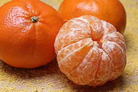 peeled orange citrus fruit
