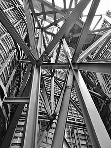 gray metal frames