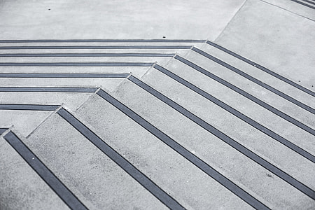 Clean Minimalistic Concrete Stairs #2