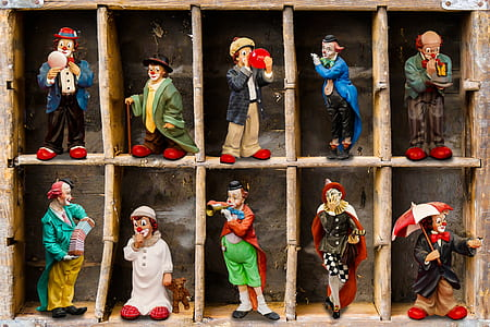 clown figure collection
