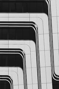 architectural detail, black and white, monochrome, line, architecture, building