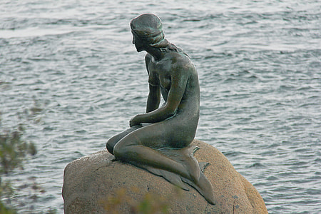The Little Mermaid in Denmark