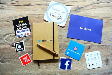 social media sticker lot