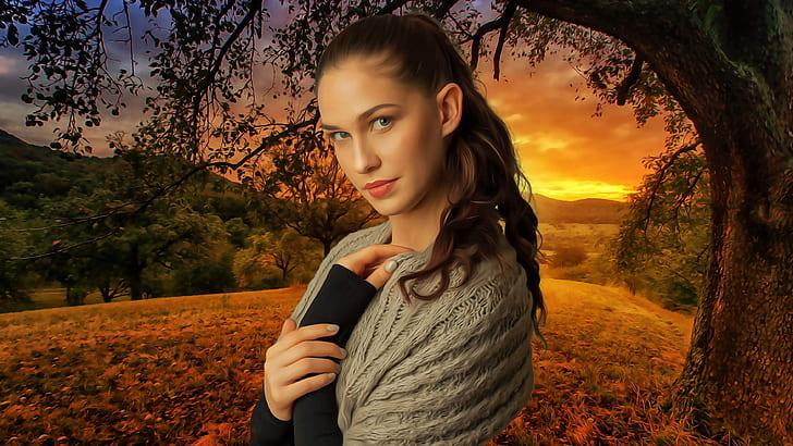 fantasy, portrait, woman, female, beauty, model