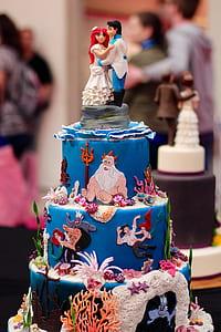 Disney Mermaid themed cake