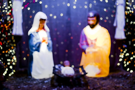 Holy Family figurines