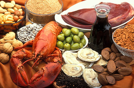 assorted edible foods
