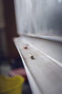 Chalk Near Board Tilt Screen Photography