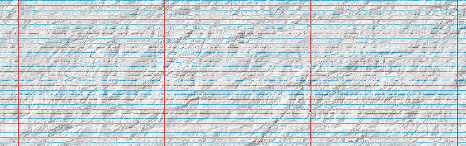 white, composition, paper, banner, header, lined paper