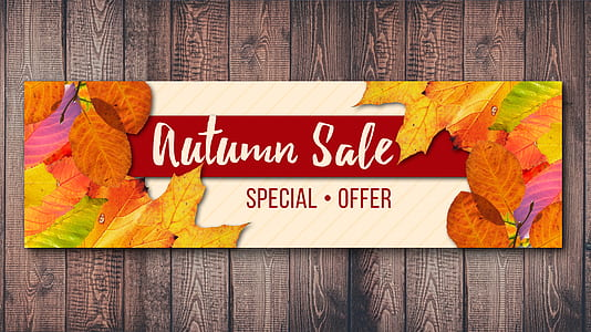 Autumn Sale advertisement