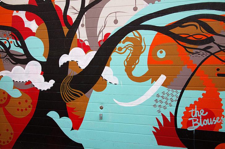 Royalty Free Photo The Blouse Graffiti 3d Art Pickpik