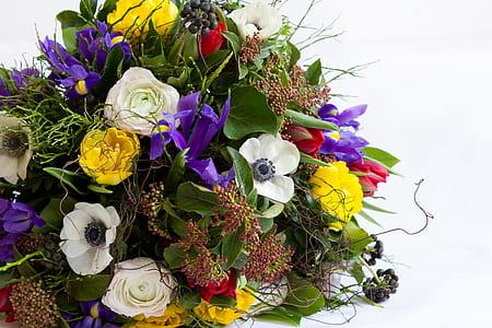variety of flower bouquet