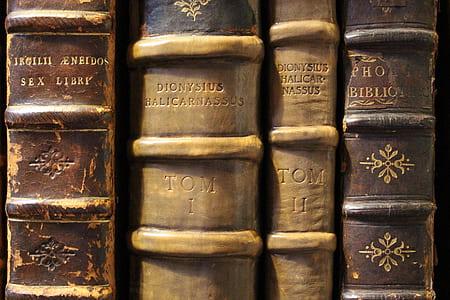 four encyclopedia book
