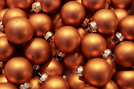 brown bauble lot