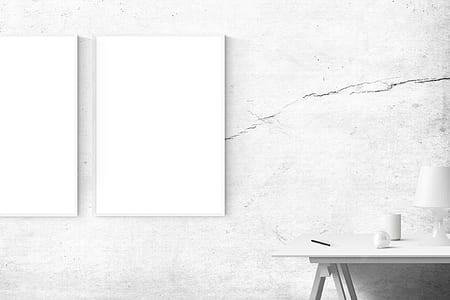 white rectangular board on white concrete surface