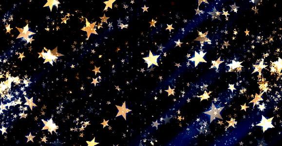 star print decor
