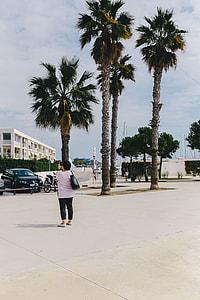 Port Ginesta harbor in Barcelona, Catalonia, Spain