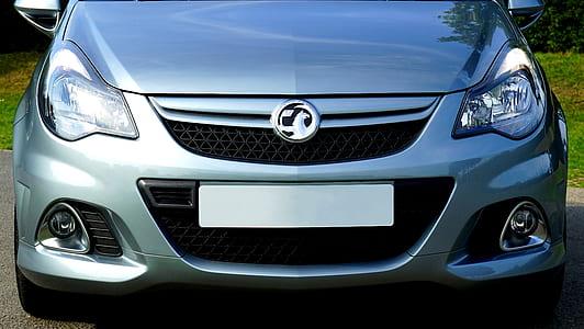 Gray Car Front