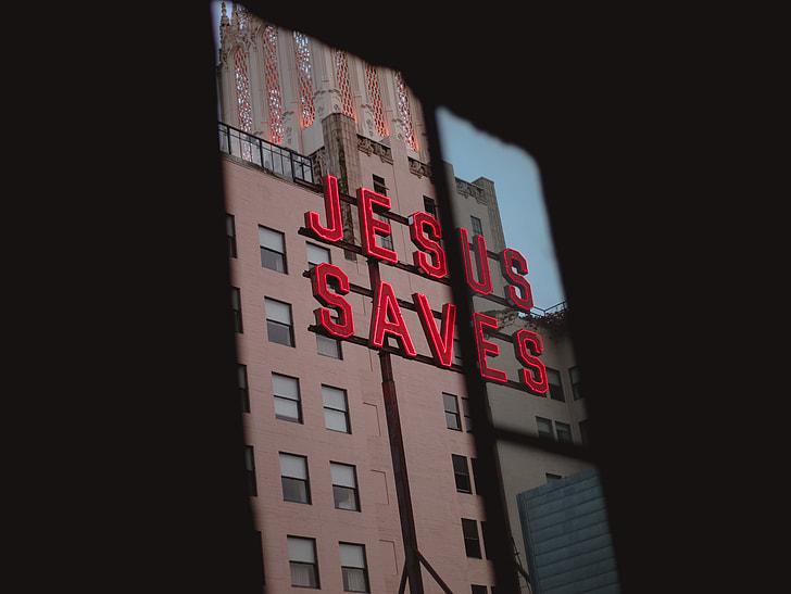 Jesus Saves billboard