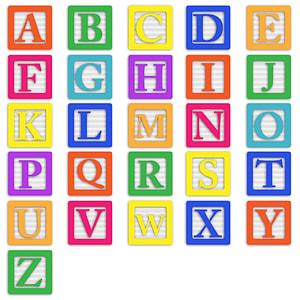 photo of alphabet illustration