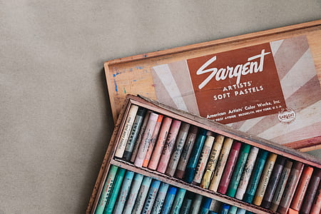 Sagent Artist Soft Pastels set with box