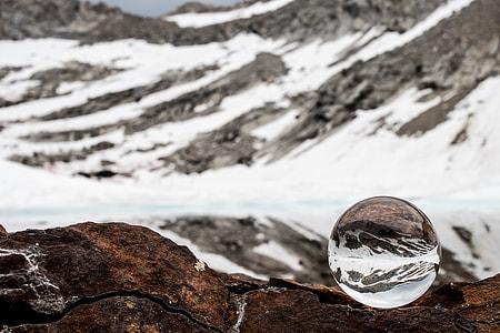 image contain snowy mountain