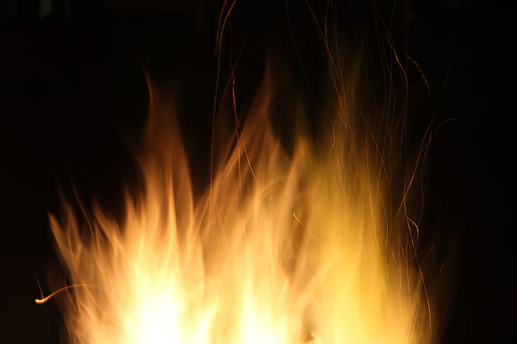 brown flame