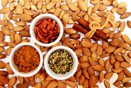 almond nuts photograph