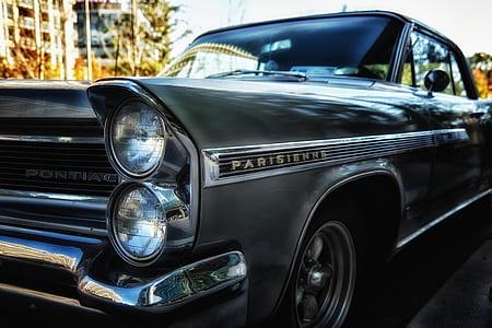 silver Pontiac Parisiernns