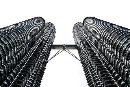 low angle photography of Petronas Tower, Malaysia
